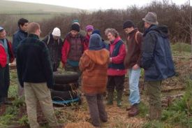 Teaching at Ourganics Evolving Systems - an excellent example of permaculture in action
